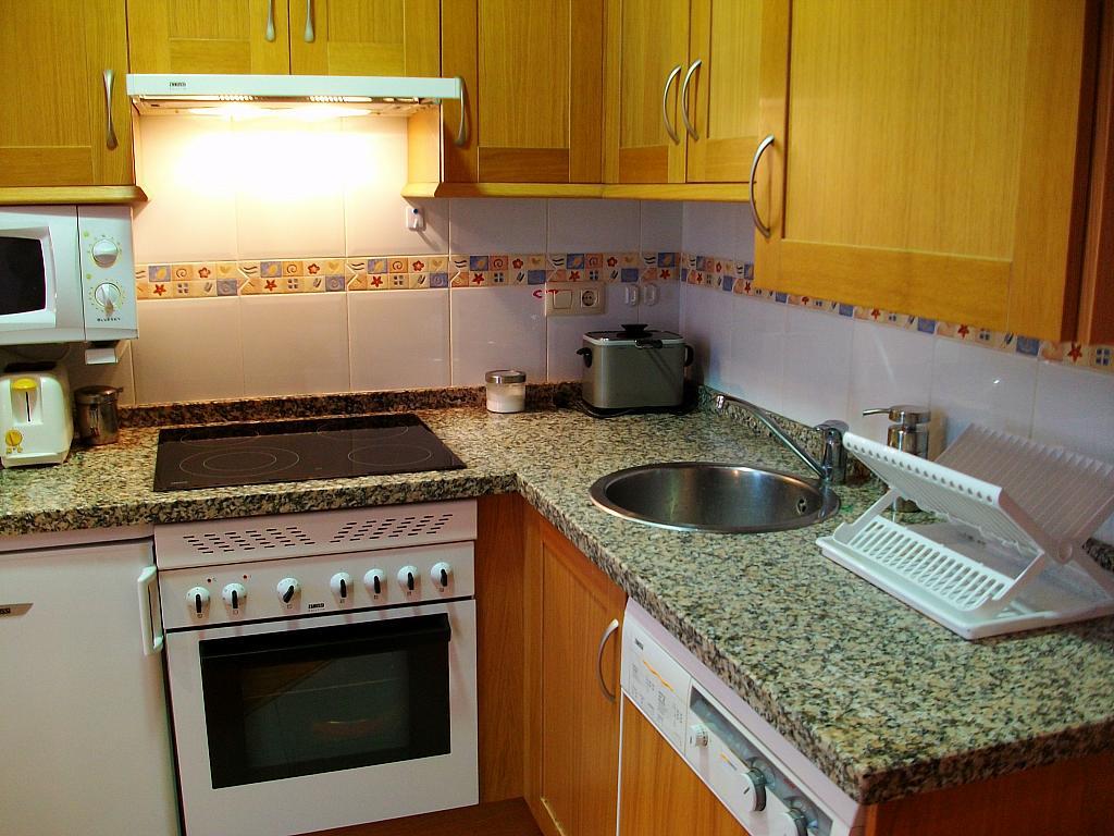 Cocina - Apartamento en alquiler en calle Honesto Batalón, Cimadevilla en Gijón - 260273983