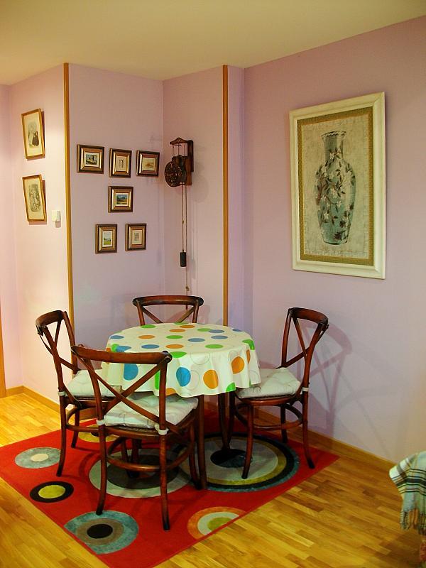 Comedor - Apartamento en alquiler en calle Honesto Batalón, Cimadevilla en Gijón - 260273985