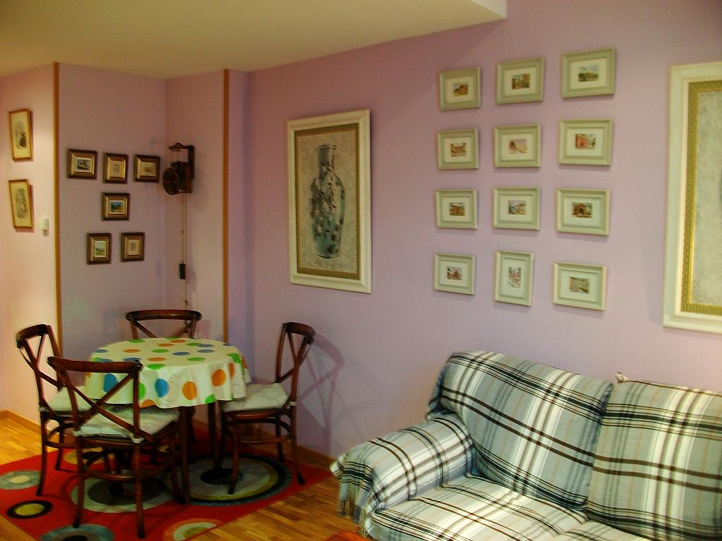 Salón - Apartamento en alquiler en calle Honesto Batalón, Cimadevilla en Gijón - 260273986