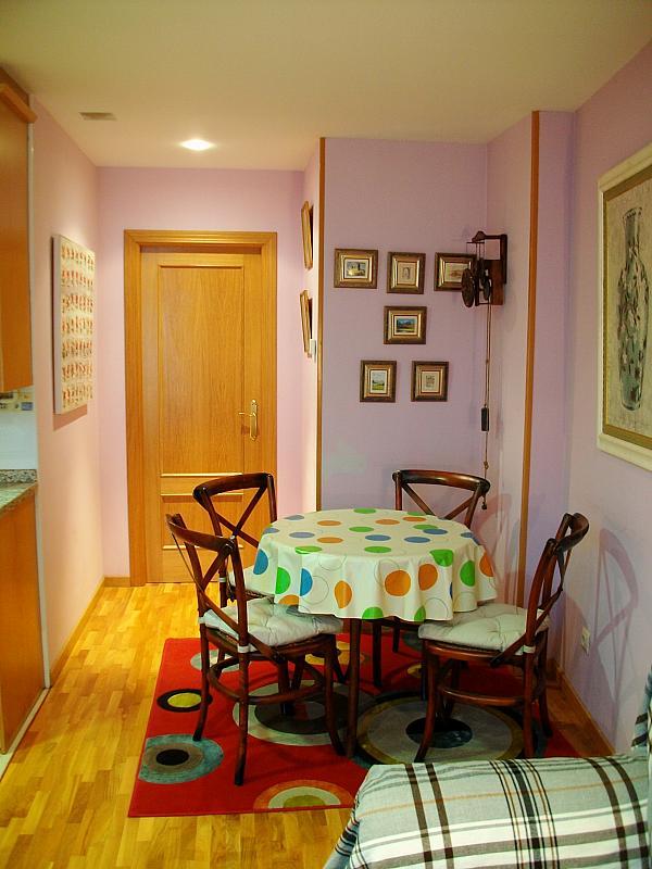 Comedor - Apartamento en alquiler en calle Honesto Batalón, Cimadevilla en Gijón - 260273989