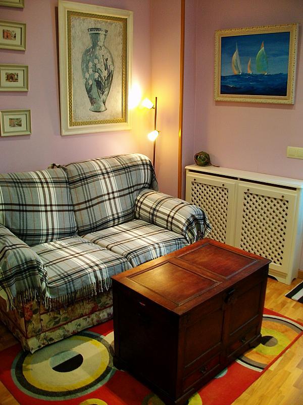 Salón - Apartamento en alquiler en calle Honesto Batalón, Cimadevilla en Gijón - 260274004