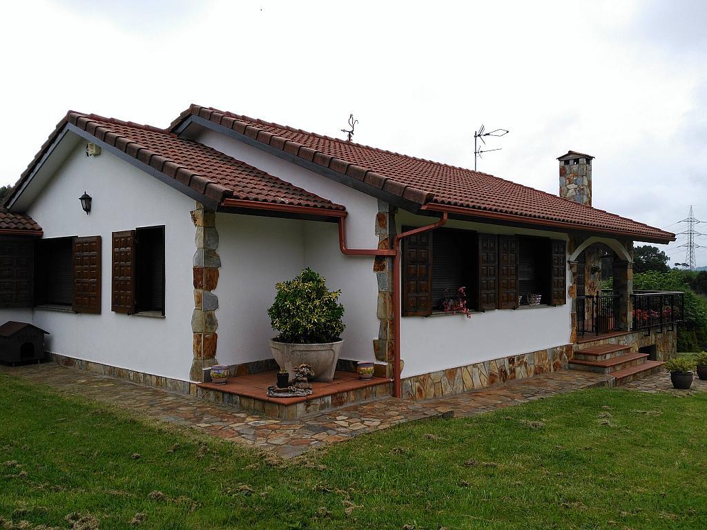 Fachada - Chalet en alquiler opción compra en barrio Peruyera, Carreño - 284331292