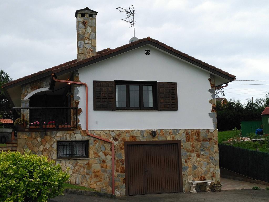 Fachada - Chalet en alquiler opción compra en barrio Peruyera, Carreño - 284331335