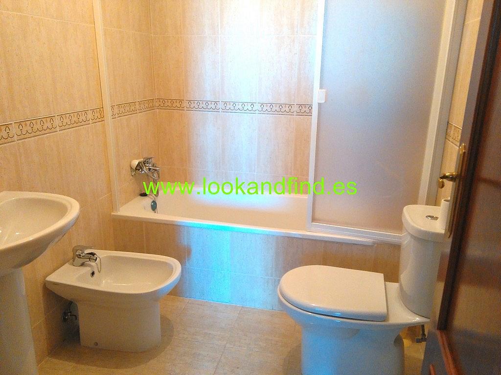 Baño - Piso en alquiler en calle Frontón, Aldeaseca de la armuÑa - 267230503