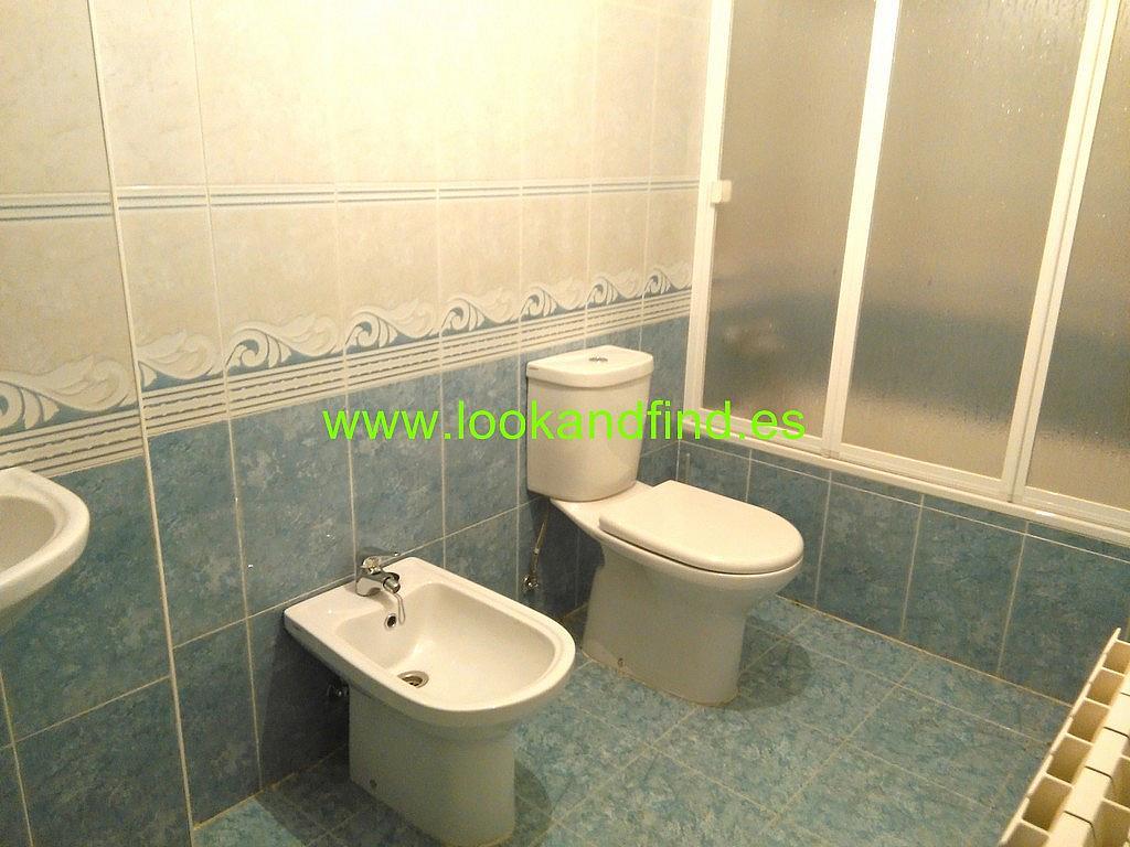 Baño - Piso en alquiler en calle Frontón, Aldeaseca de la armuÑa - 267230505