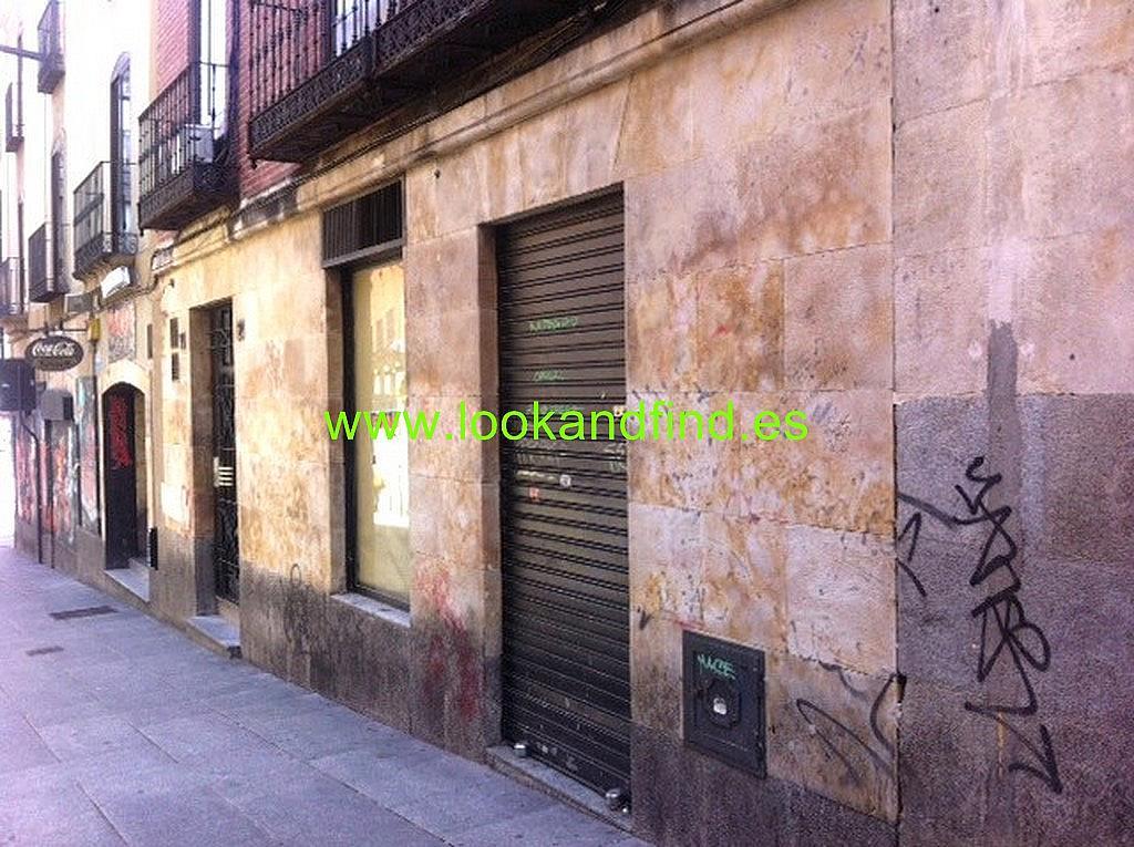 Fachada - Local comercial en alquiler en calle Varillas, Centro en Salamanca - 283190773