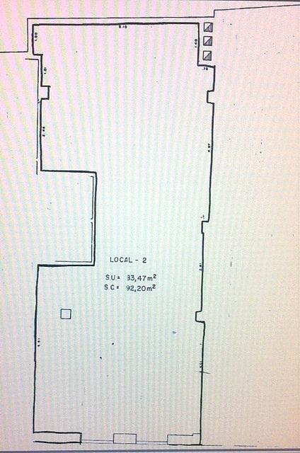 Plano - Local comercial en alquiler en calle Varillas, Centro en Salamanca - 283198868