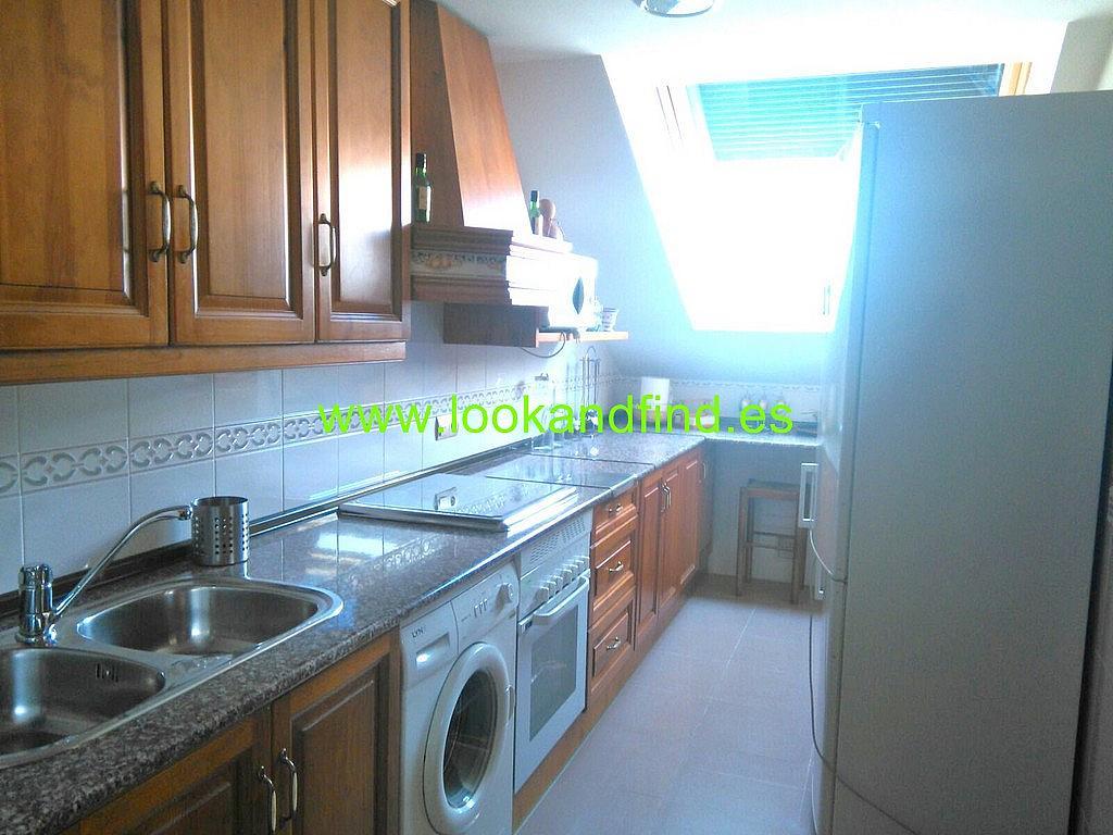Cocina - Piso en alquiler en calle Luis Salabalust, Universidad en Salamanca - 283637783