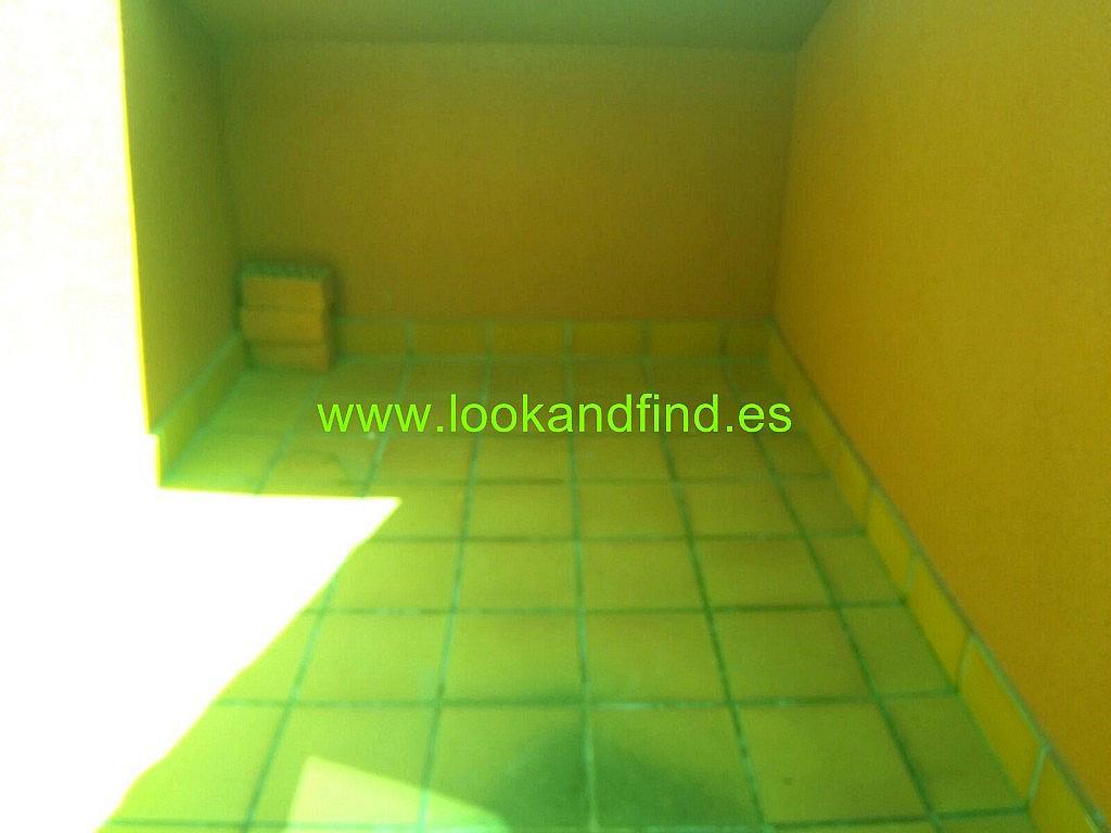 Terraza - Piso en alquiler en calle Luis Salabalust, Universidad en Salamanca - 283637793