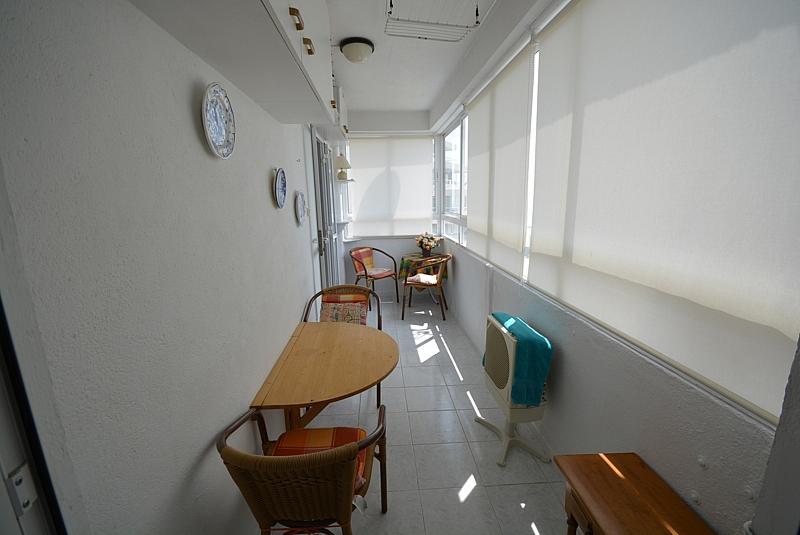 Terraza - Apartamento en alquiler de temporada en calle Terramar, Arroyo de la Miel en Benalmádena - 264438964