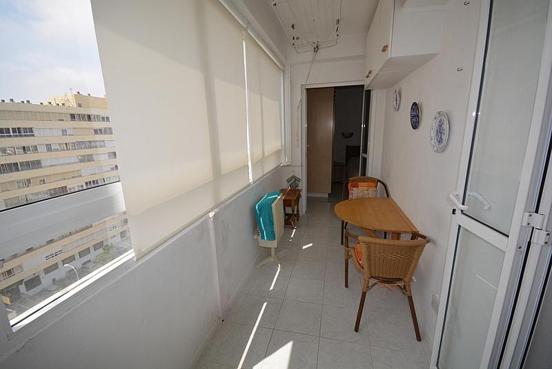Terraza - Apartamento en alquiler de temporada en calle Terramar, Arroyo de la Miel en Benalmádena - 264438965