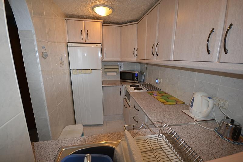Cocina - Apartamento en alquiler de temporada en calle Terramar, Arroyo de la Miel en Benalmádena - 264439014