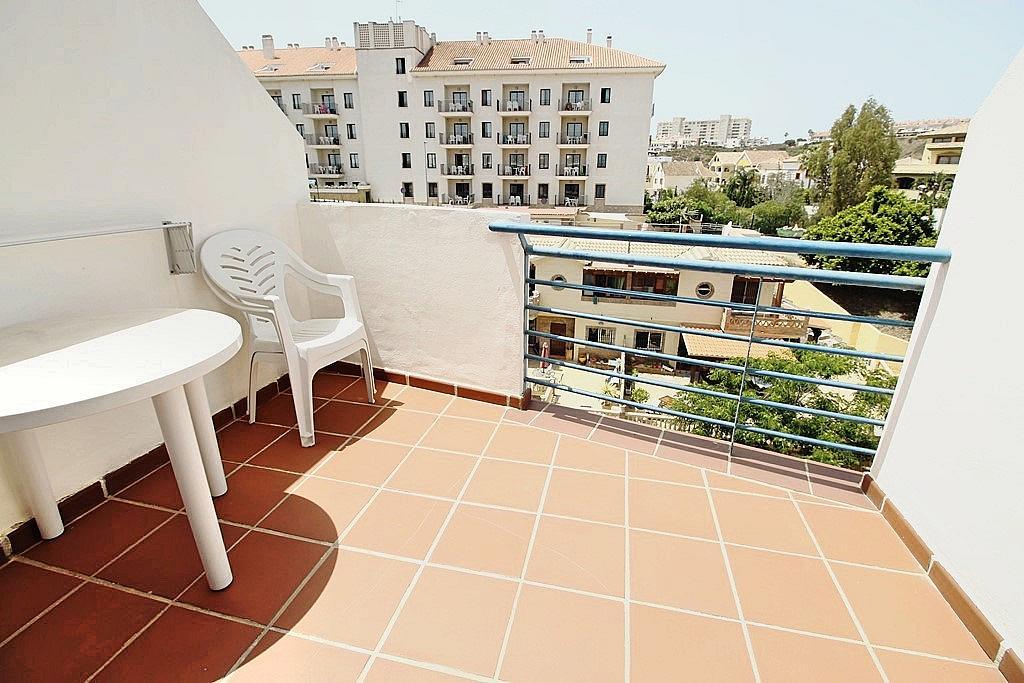 Terraza - Ático-dúplex en alquiler en calle Camino Doña María, Benalmádena Costa en Benalmádena - 285597280