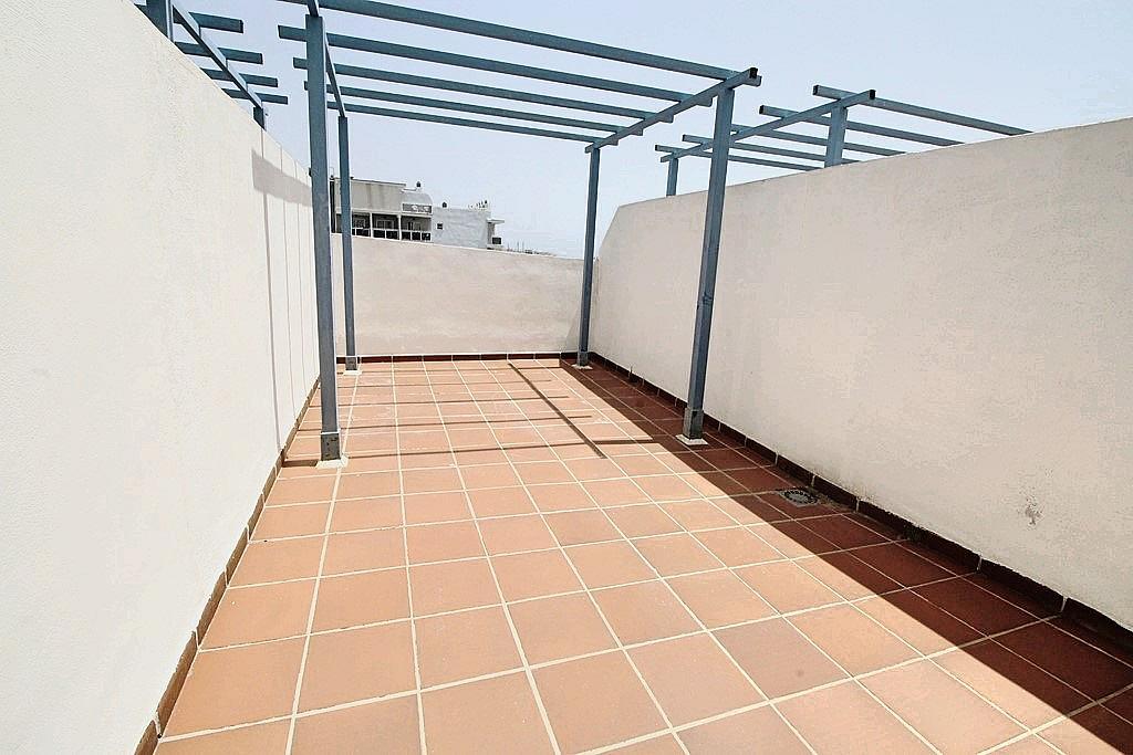 Terraza - Ático-dúplex en alquiler en calle Camino Doña María, Benalmádena Costa en Benalmádena - 285597287