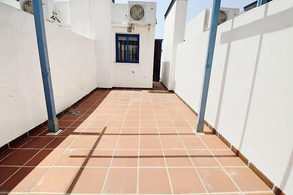 Terraza - Ático-dúplex en alquiler en calle Camino Doña María, Benalmádena Costa en Benalmádena - 285597291