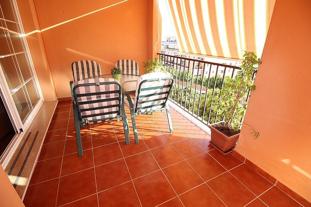 Terraza - Piso en alquiler de temporada en calle Federico Mompou, Torremolinos - 316738234