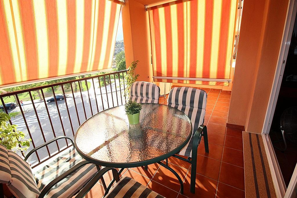 Terraza - Piso en alquiler de temporada en calle Federico Mompou, Torremolinos - 316738241