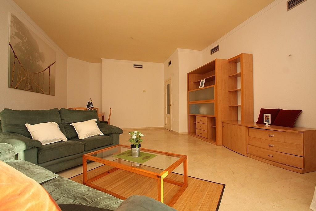 Salón - Apartamento en alquiler en ronda Golf Este, Torrequebrada en Benalmádena - 326665880