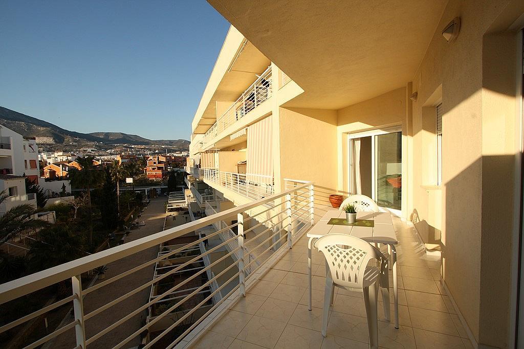 Terraza - Apartamento en alquiler en ronda Golf Este, Torrequebrada en Benalmádena - 326665884
