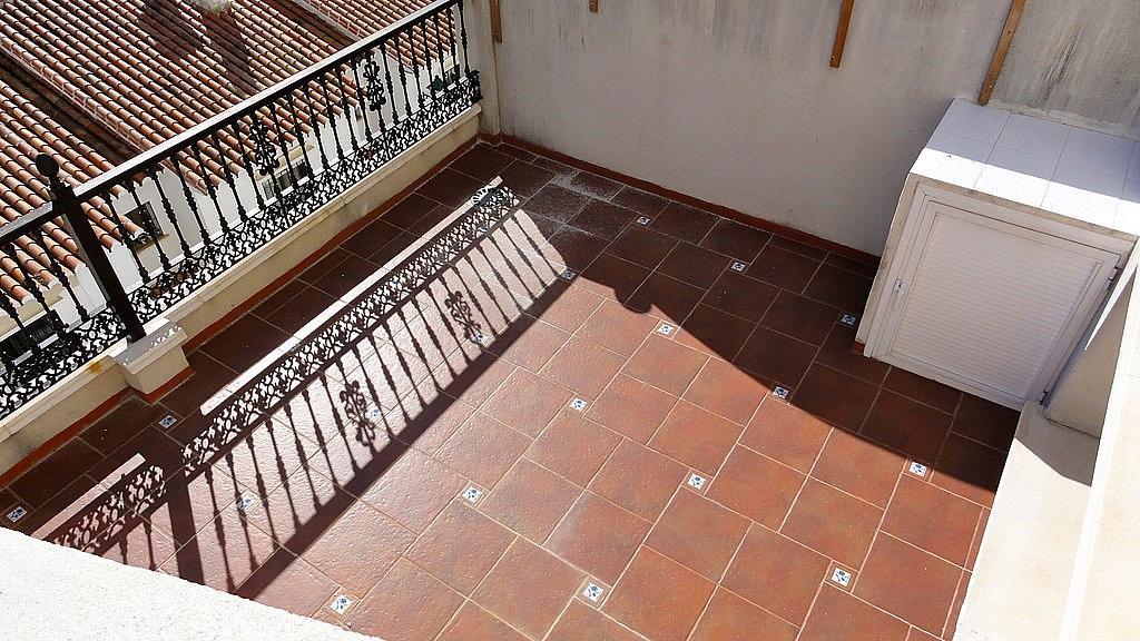 Terraza - Casa adosada en alquiler en calle Flathotel, Benalmádena Costa en Benalmádena - 225284160