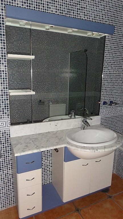 Baño - Casa adosada en alquiler en calle Flathotel, Benalmádena Costa en Benalmádena - 225284174