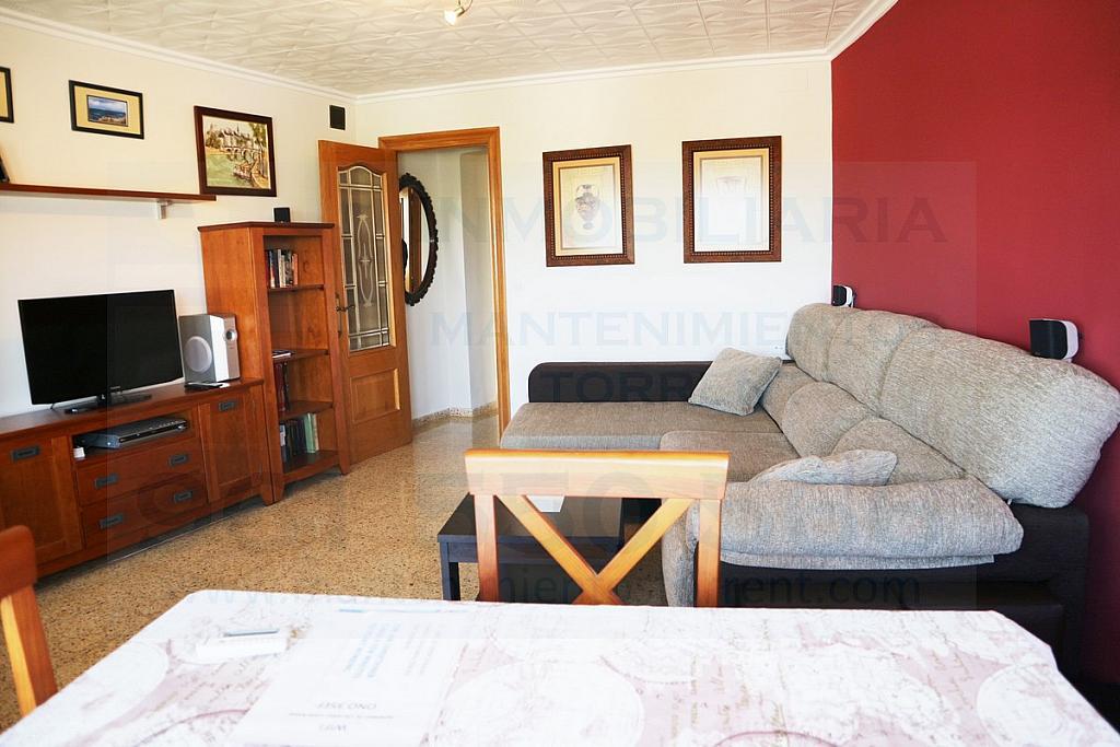 Salón - Piso en alquiler en calle San Pascual, Picanya - 316017916