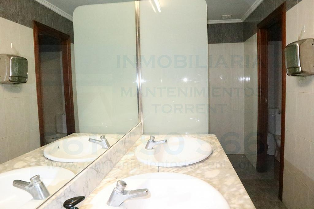 Baño - Local comercial en alquiler en calle Marquesat, Torrent - 320723188