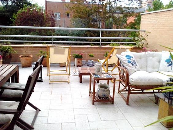 Ático en alquiler en calle Vizconde de Los Asilos, Quintana en Madrid - 336101499