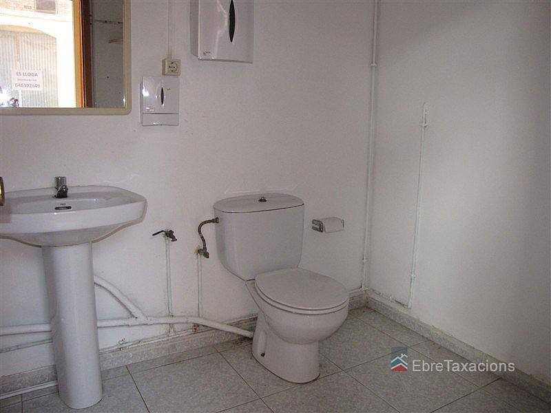 Baño - Local comercial en alquiler en calle Barcelona Local, Amposta - 322321133