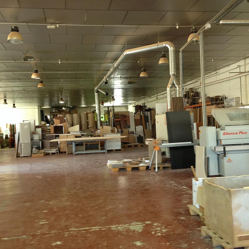 Planta baja - Nave industrial en alquiler en calle Sant Miquel del Toudell, Viladecavalls - 243990295