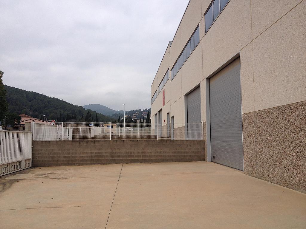 Patio - Nave industrial en alquiler en calle Jurats, La Plana en Sant Andreu de la Barca - 240065886