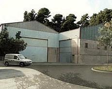 Fachada - Nave industrial en alquiler en calle Riera de la Salut, La Salut en Sant Feliu de Llobregat - 240100006