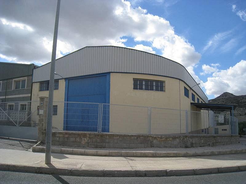 Foto - Nave industrial en alquiler en calle Tres Hemanas, Aspe - 248441225