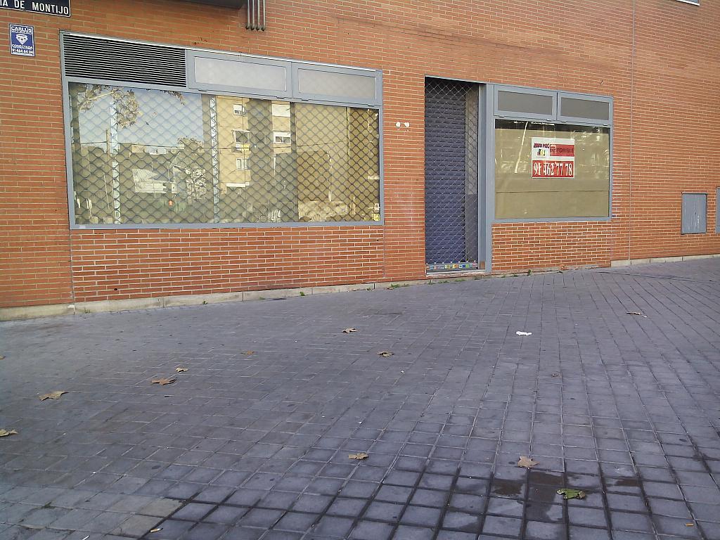 Fachada - Local comercial en alquiler en calle Eugenia de Montijo, Puerta Bonita en Madrid - 258724176