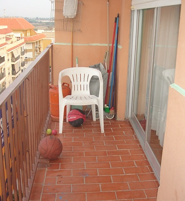 Balcón - Piso en alquiler en calle Juan, Llíria - 289797600