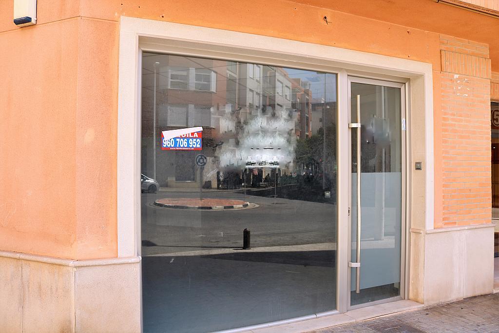 Fachada - Local comercial en alquiler en calle Gerardo Ferrand, Centro Urbano en Llíria - 306526117