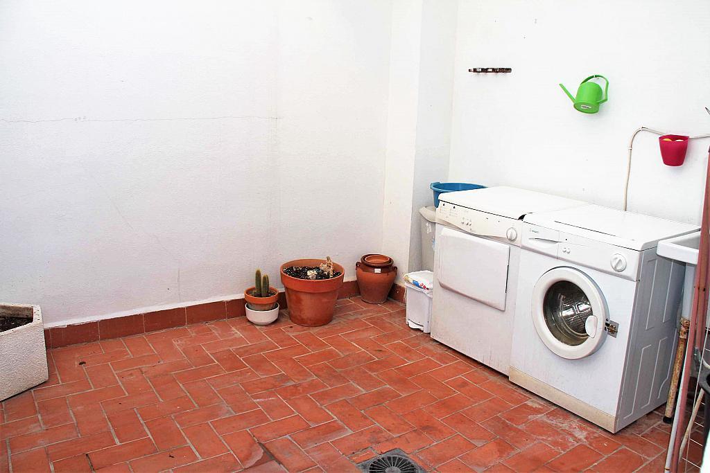 Terraza - Casa adosada en alquiler opción compra en calle Savador Matias Escrich, Casinos - 316752723