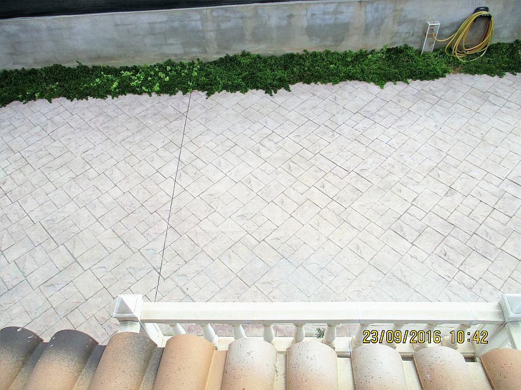 Terraza - Chalet en alquiler en calle La Marina, Corral de la Marquesa en Llíria - 324848284