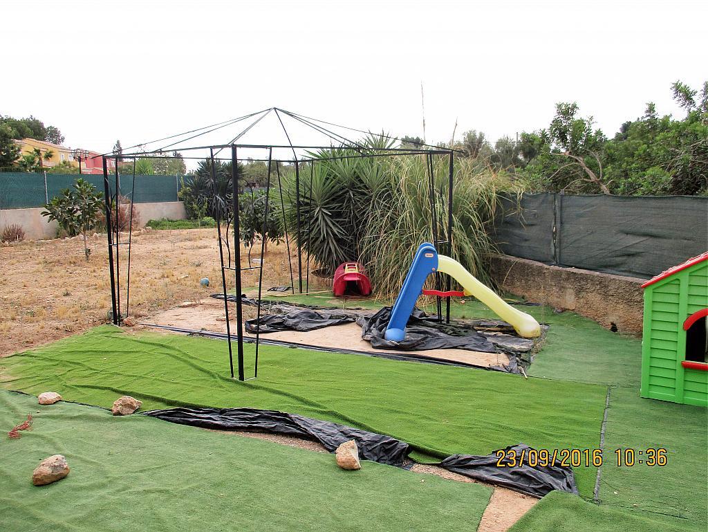 Jardín - Chalet en alquiler en calle La Marina, Corral de la Marquesa en Llíria - 324848285