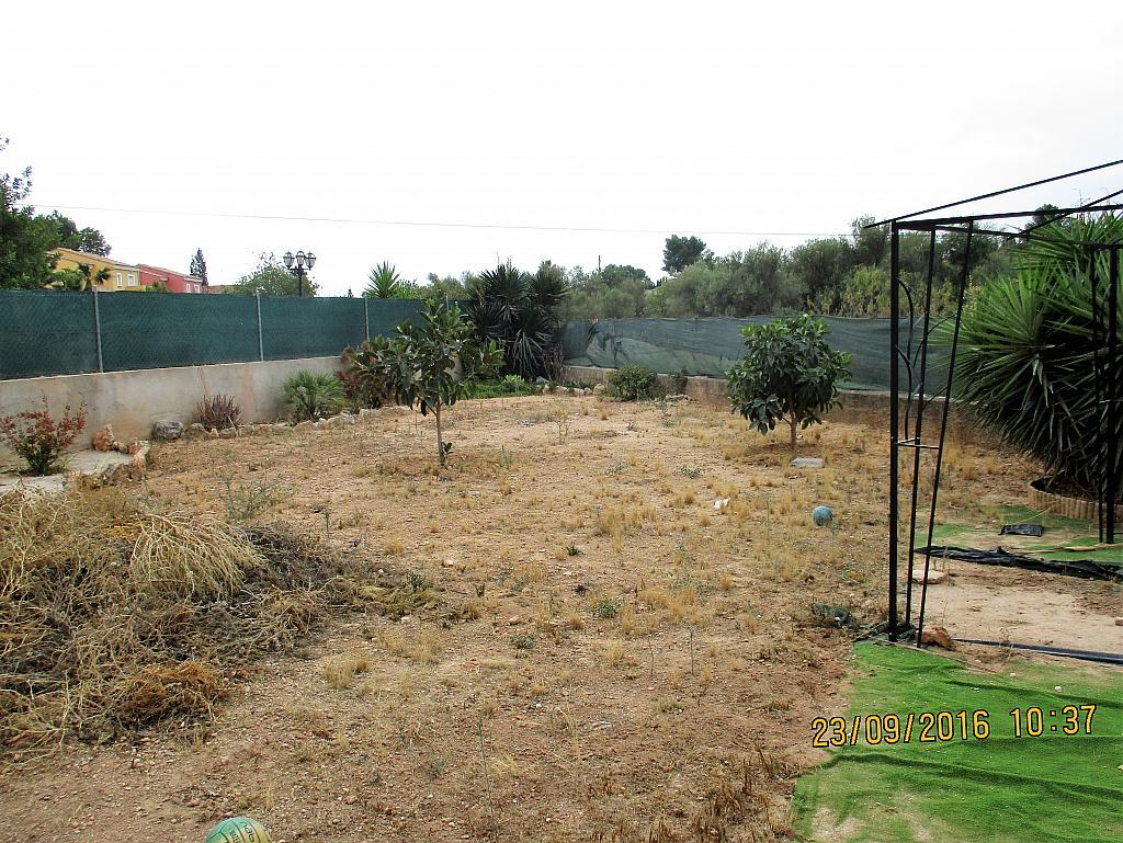 Jardín - Chalet en alquiler en calle La Marina, Corral de la Marquesa en Llíria - 324848289