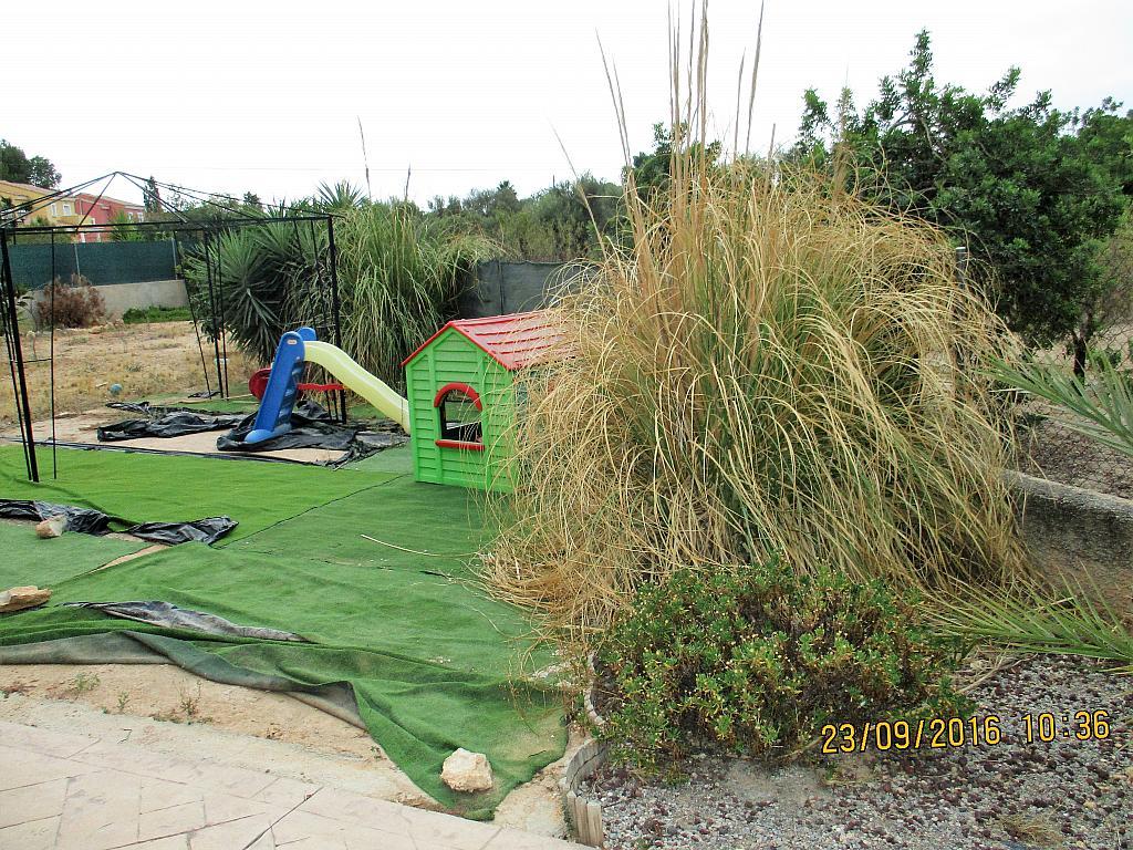 Jardín - Chalet en alquiler en calle La Marina, Corral de la Marquesa en Llíria - 324848292