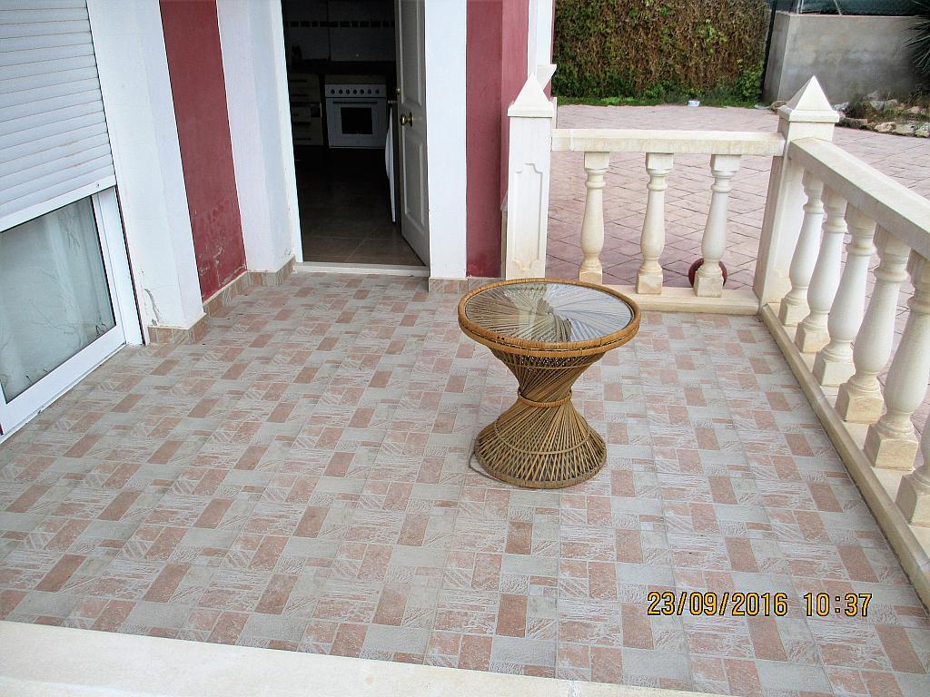 Porche - Chalet en alquiler en calle La Marina, Corral de la Marquesa en Llíria - 324848294