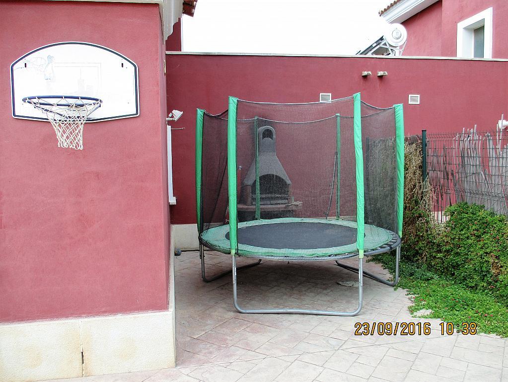 Patio trasero - Chalet en alquiler en calle La Marina, Corral de la Marquesa en Llíria - 324848296