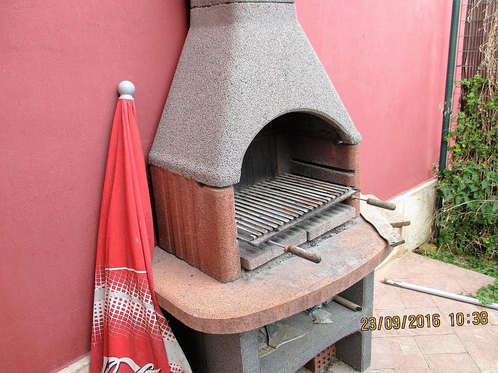 Patio trasero - Chalet en alquiler en calle La Marina, Corral de la Marquesa en Llíria - 324848310