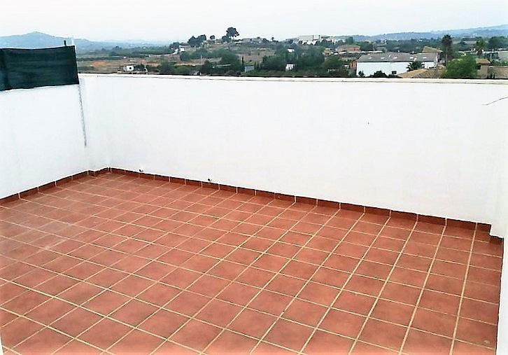 Terraza - Ático en alquiler en calle Vilamarxant, Casco Urbano en Vilamarxant - 347102944