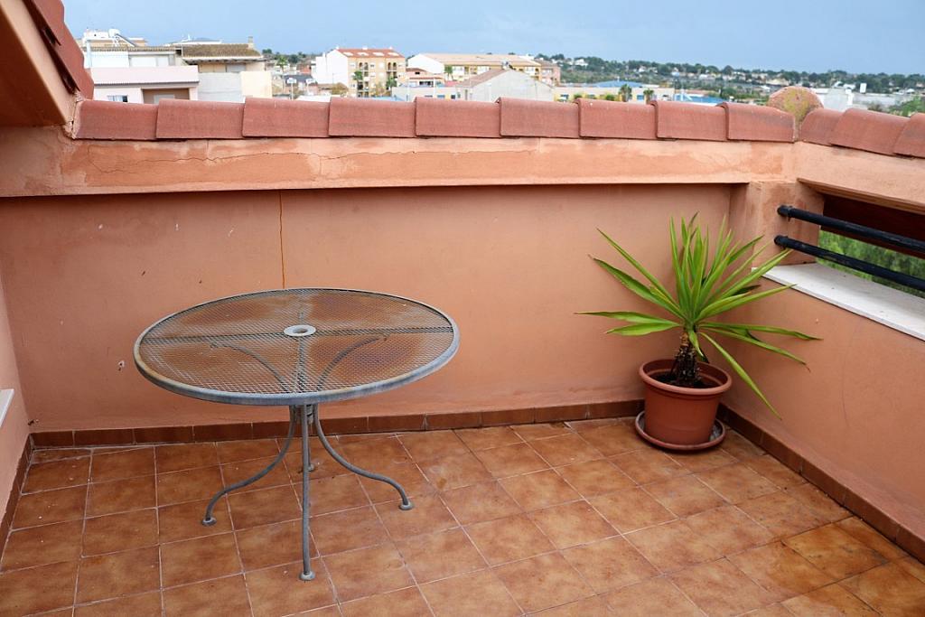 Terraza - Dúplex en alquiler en calle Benisano, Benisanó - 355067422