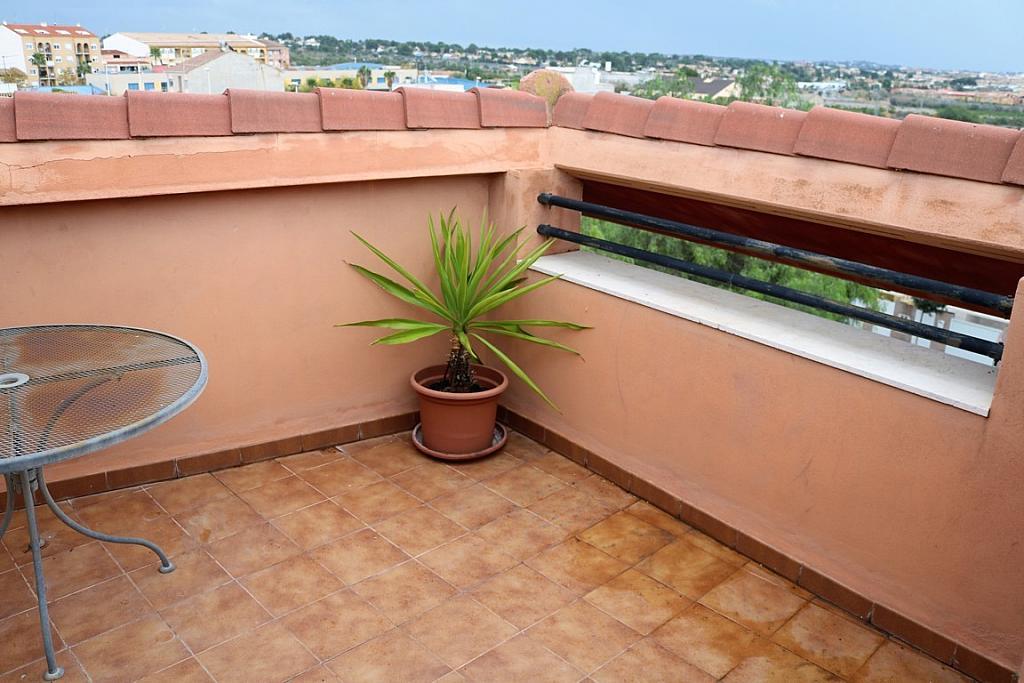 Terraza - Dúplex en alquiler en calle Benisano, Benisanó - 355067423
