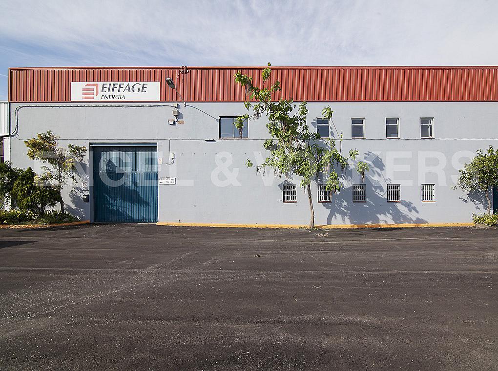 Fachada - Nave industrial en alquiler en carretera II, Sant Andreu de la Barca - 280255152