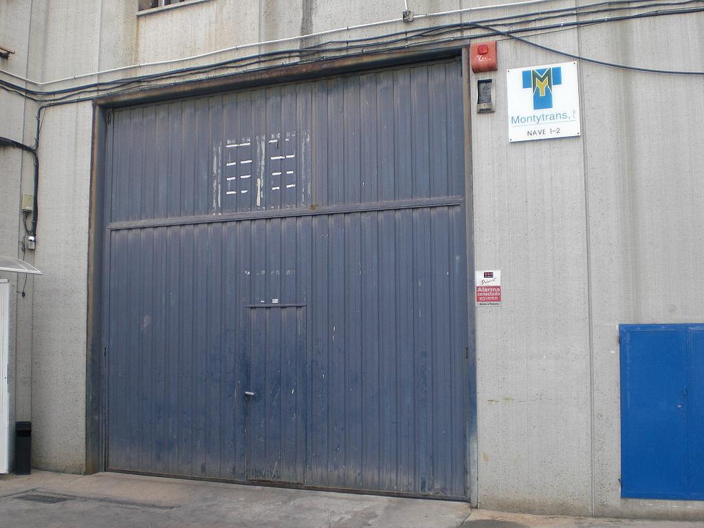 Fachada - Nave industrial en alquiler en calle Plasmica, Padró en Cornellà de Llobregat - 313874808