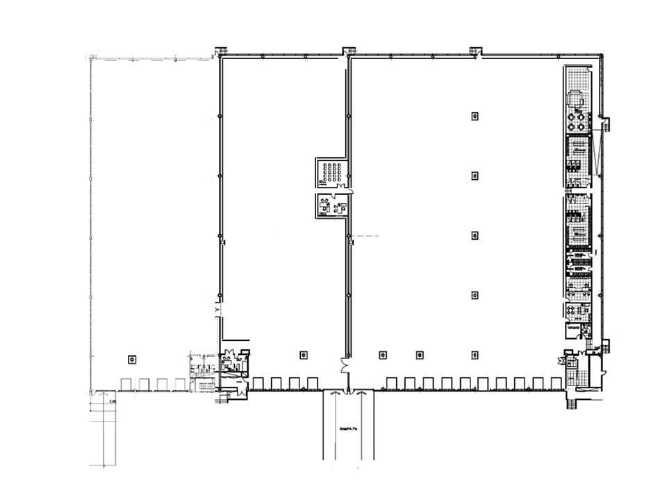 Plano - Nave en alquiler en calle Número Tres, Zona Franca- Port en Barcelona - 316044069
